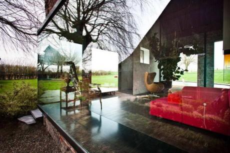 Сельский дом (Farmhouse) в Бельгии от Studio Farris.