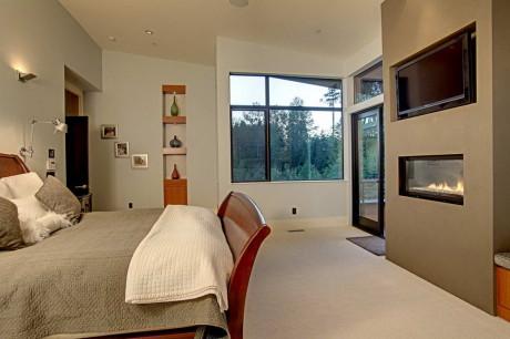 Лесной Дом (Forest House) в США от McClellan Architects.