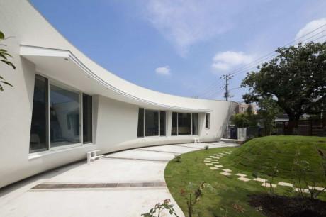Дом с зелёным экраном в Японии