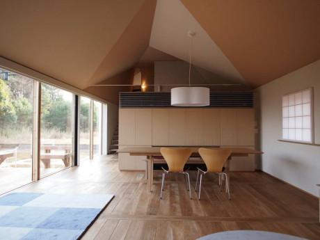 Дом Хаясака (House Hayasaka) в Японии от Ken Yokogawa Architect & Associates.