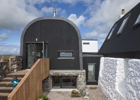 Реконструкция и расширение дома в Шотландии