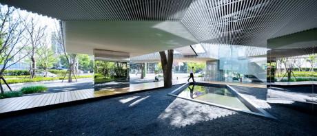 Офисный комплекс (Huaxin office complex) в Китае от Scenic Architecture.