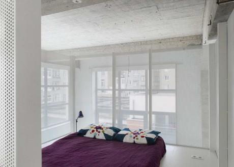 Лофт-апартамент с супертонкими лестницами (Loft apartment with super-thin staircases) в Бельгии от adn Architectures.