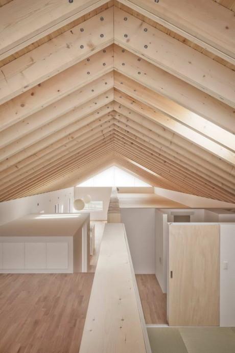 Деревянный дом в Японии