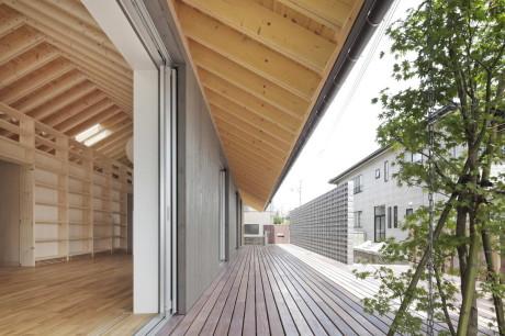 Дом M (M House) в Японии от Facet Studio.