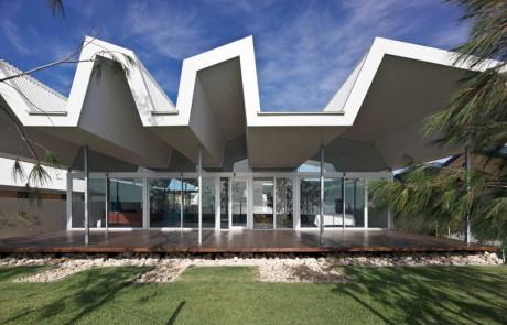 Дом у океана в Австралии