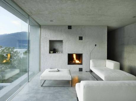 Новый дом в Ранцо (Nova Casa em Ranzo) в Швейцарии от Wespi de Meuron.