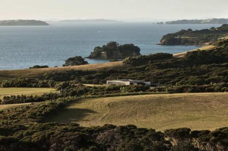 Дом Парк пойнт (Park Point House) в Новой Зеландии от Vaughn McQuarrie Architecture & Design.