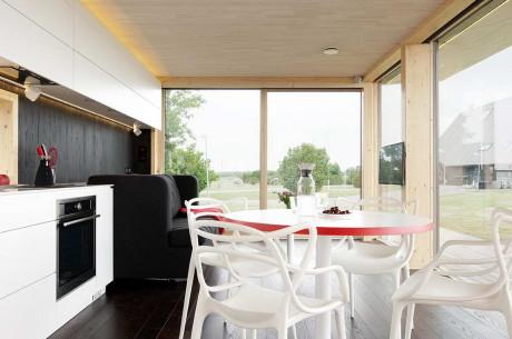 Дом заводского изготовления (Passion Group Prefab House) в Эстонии от Architect 11.