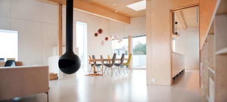 Вежливый дом (Polite House) в Норвегии от JVA.