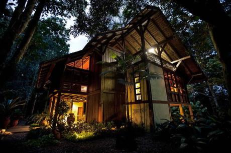 Лесной дом в Бразилии