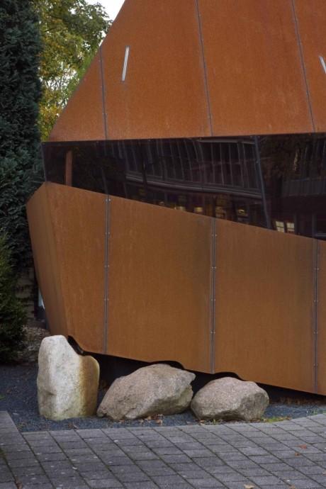 Стальной экран (Steel Screen) в Голландии от Mohn+Bouman.