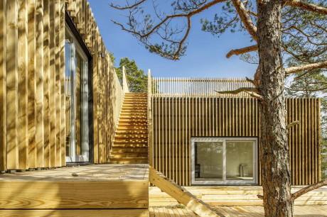 Дом для отдыха (Timaro Vacation House) в Швеции от Sandell Sandberg.