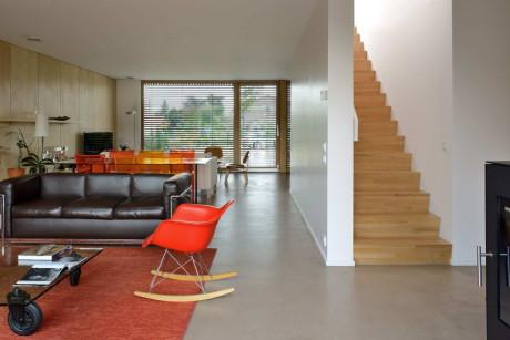 Вилла Б (Villa B) во Франции от Tectoniques Architects.