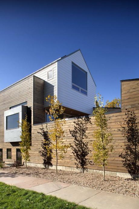 Дом на 33-й улице (33rd Street House) в США от Meridian 105 Architecture.