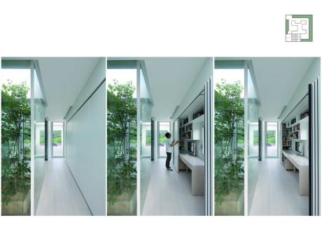 Экспериментальный дом 9х9 (9X9 Experimental House) в Южной Корее от Studio Archiholic.