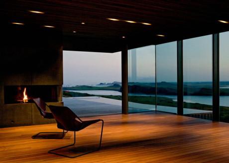 Дом Аурборг (Arborg House) в Исландии от PK Arkitektar.