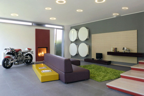 Дом C+V (C+V House) в Италии от Giovanni Vaccarini Architetto.