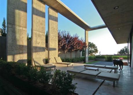 Резиденция Креста (Cresta Residence) в США от Jonathan Segal FAIA.