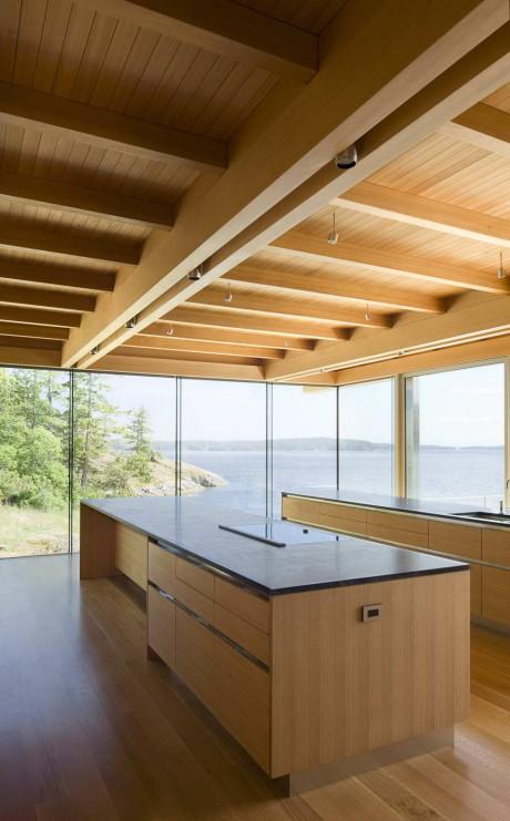 Резиденция на островах Галф (Gulf Islands Residence) в Канаде от RUFproject.