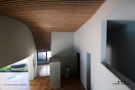 Дом Очаг (Habitacao Coracao) в Португалии от Caldeira Figueiredo.