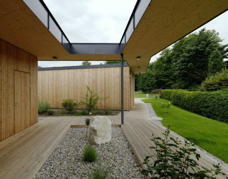 Дом G (House G) в Австрии от Dietger Wissounig Architekten.