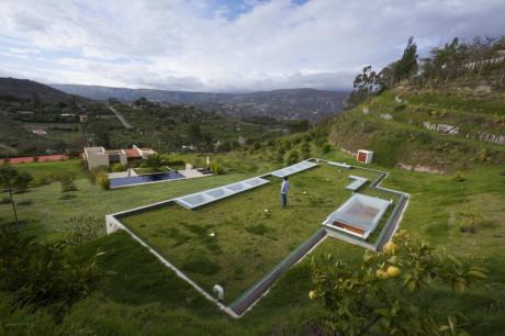 Дом Беседка (House Gazebo) в Эквадоре от AR+C.