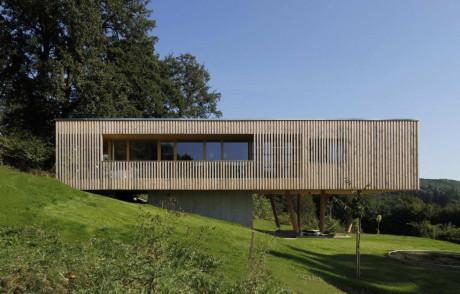 Дом на склоне в Австрии