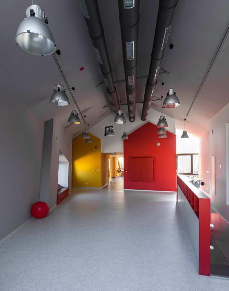 """Детский сад """"Кита"""" (Kindergarten Kita) в Болгарии от Studio Conveyer."""