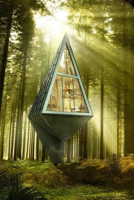Лесной Дом-дерево