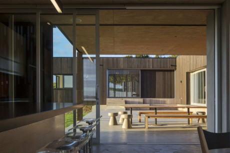 Сельский дом (Te Hana Farmhouse) в Новой Зеландии от S3 Architects.
