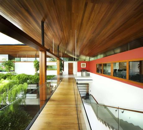 """Дом """"Ива"""" (The Willow House) в Сингапуре от Guz Architects."""