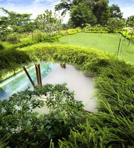 Дом-сад в Сингапуре