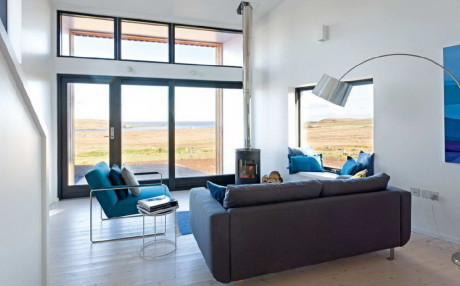 Дом с дёрном (Turf House) в Шотландии от Rural Design.