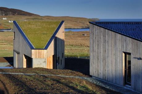 Деревянный дом в Шотландии