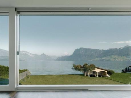 Вилла М (Villa M) в Швейцарии от Niklaus Graber + Christoph Steiger Architekten.