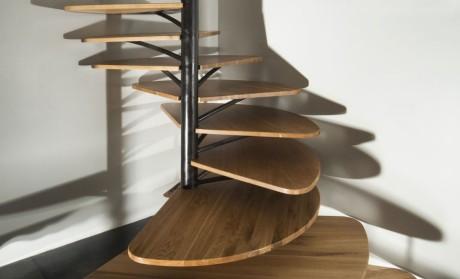 Спиральная лестница в Париже