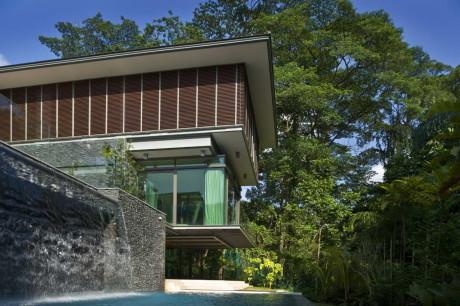 Дом на склоне в Сингапуре