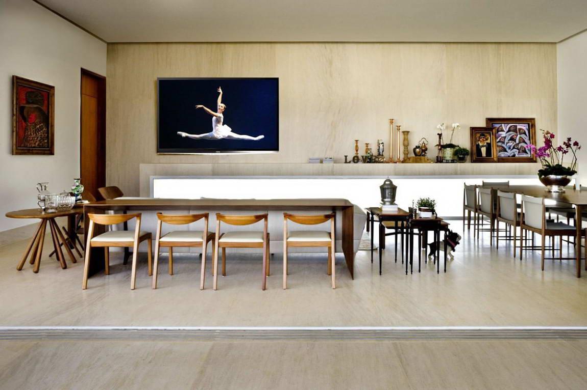 Casa do Patio 9 135x135 Дом вокруг двора в Бразилии минимализм декор двор