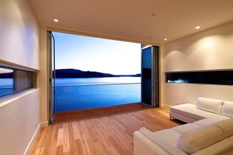 Резиденция Скалолаз (Cliffhanger Residence) в Канаде от Kevin Vallely Design.