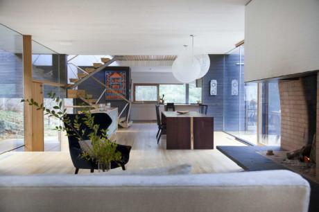 Дом Депо (Depot House) в США от Gray Organschi Architecture.