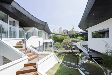 Дом Ga On Jai (Ga On Jai) в Южной Корее от IROJE KHM Architects.