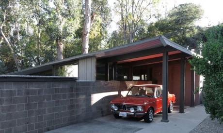 Реконструкция модернистского дома в США