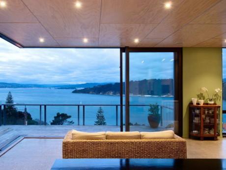 Дом Хатаитай (Hataitai Home) в Новой Зеландии от John Mills Architects.