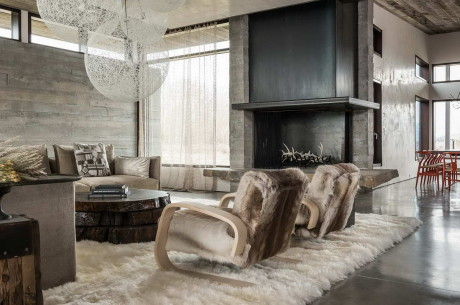 Современный дом (House JH Modern) в США от Pearson Design Group.