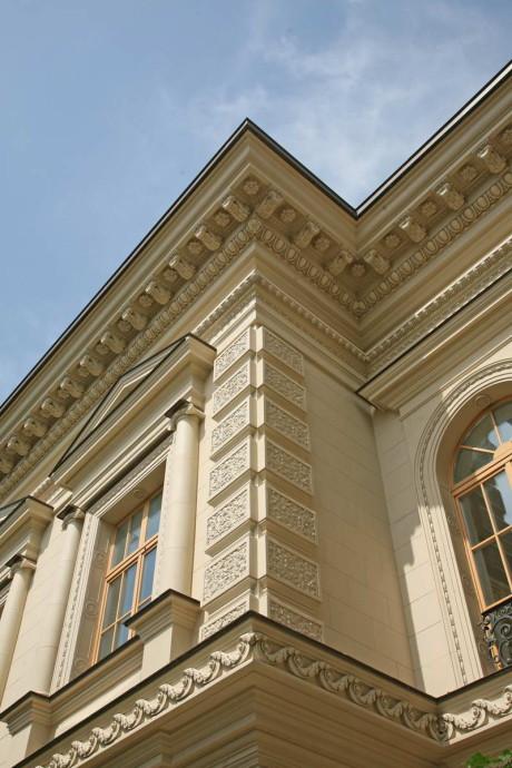Особняк в поселке Флоранс (Mansion in Florence) в России от Д.Б. Бархина.