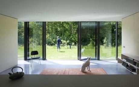 Зеркальный Дом (Mirror House) в Голландии от Johan Selbing Architecture.