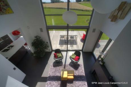 Новый частный дом в Фелюи (New Private House in Feluy) в Бельгии от Bureau 2G.