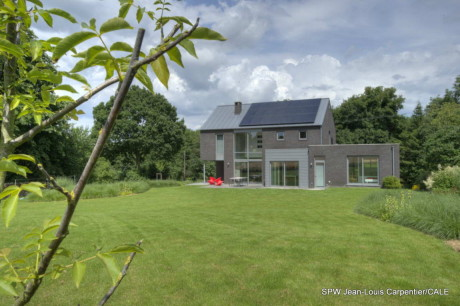 Энергоэффектиный дом в Бельгии