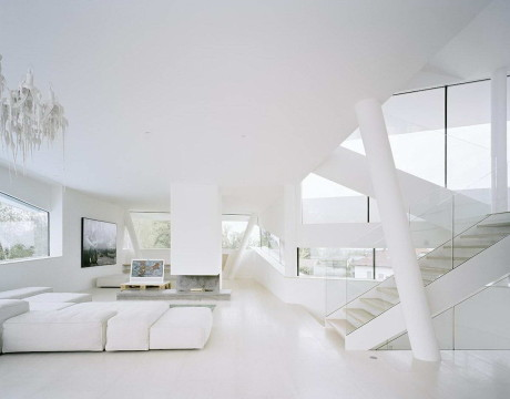 Вилла Фройндорф (Villa Freundorf) в Австрии от A01 Architects.